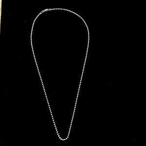 """Classy 20"""" Sterling Silver 925 Italian Necklace"""
